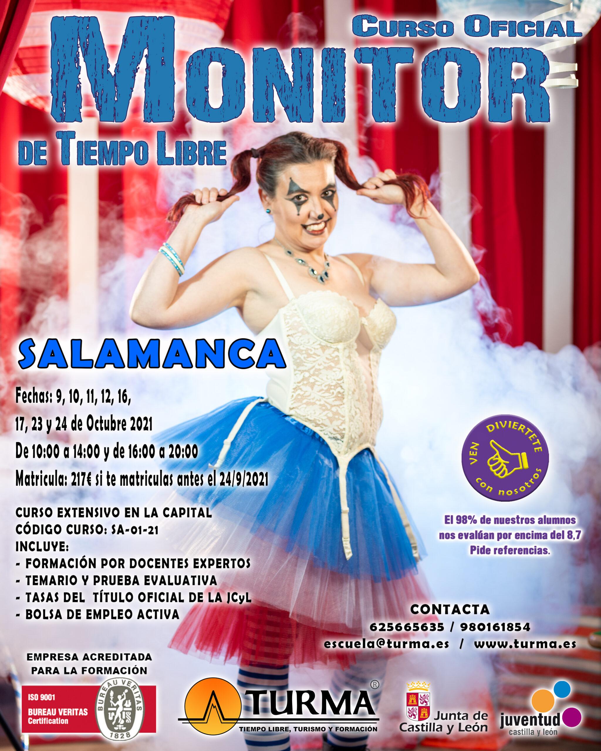 cartel curso monitor salamanca